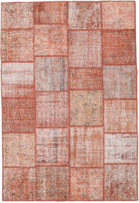 Patchwork Rug 158X234 Authentic  Modern Handknotted Light Pink/Brown (Wool, Turkey)