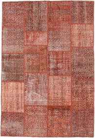 Patchwork Rug 158X235 Authentic  Modern Handknotted Brown/Light Brown (Wool, Turkey)