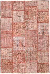 Patchwork Rug 158X232 Authentic  Modern Handknotted Light Pink/Brown (Wool, Turkey)