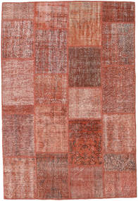 Patchwork Rug 160X233 Authentic  Modern Handknotted Brown/Light Pink (Wool, Turkey)