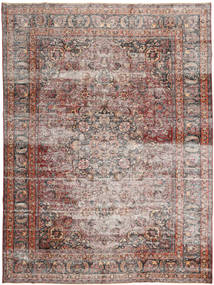 Colored Vintage Rug 283X385 Authentic  Modern Handknotted Light Brown/Light Grey Large (Wool, Persia/Iran)