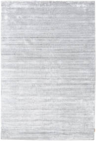 Bamboo Silk Loom - Grey Rug 300X400 Modern White/Creme/Light Grey Large ( India)