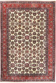 Bidjar Takab/Bukan Tapijt 197X296 Echt Oosters Handgeknoopt Beige/Donkerbruin (Wol, Perzië/Iran)