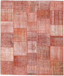 Patchwork Rug 254X301 Authentic  Modern Handknotted Light Pink/Brown Large (Wool, Turkey)