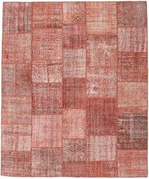 Patchwork Rug 250X298 Authentic  Modern Handknotted Light Pink/Brown Large (Wool, Turkey)