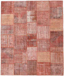 Patchwork Rug 251X302 Authentic  Modern Handknotted Light Pink/Brown Large (Wool, Turkey)