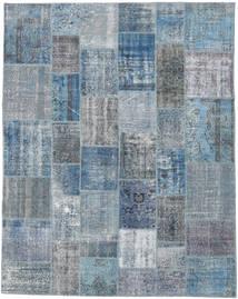 Patchwork Rug 244X308 Authentic  Modern Handknotted Light Blue/Light Grey (Wool, Turkey)