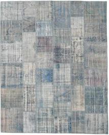 Patchwork Rug 244X300 Authentic  Modern Handknotted Light Grey/Dark Grey (Wool, Turkey)