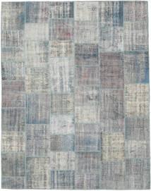 Patchwork Rug 241X305 Authentic  Modern Handknotted Light Grey (Wool, Turkey)