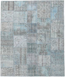 Patchwork Rug 254X300 Authentic  Modern Handknotted Light Grey/Light Blue Large (Wool, Turkey)