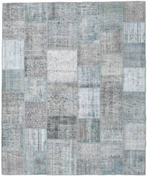 Patchwork Rug 251X302 Authentic  Modern Handknotted Light Grey Large (Wool, Turkey)