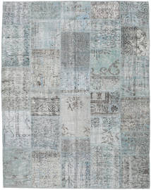 Patchwork Rug 196X250 Authentic  Modern Handknotted Light Grey/Light Blue (Wool, Turkey)