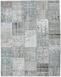Patchwork Rug 197X249 Authentic  Modern Handknotted Light Grey (Wool, Turkey)