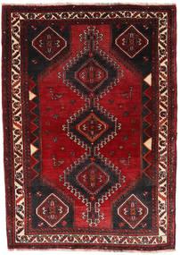 Ghashghai Matto 120X172 Itämainen Käsinsolmittu Tummanpunainen/Musta (Villa, Persia/Iran)
