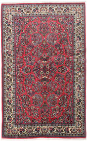 Sarouk Rug 130X210 Authentic  Oriental Handknotted Dark Blue/Dark Purple (Wool, Persia/Iran)