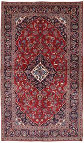 Keshan Matto 147X258 Itämainen Käsinsolmittu Tummanvioletti/Tummanpunainen (Villa, Persia/Iran)