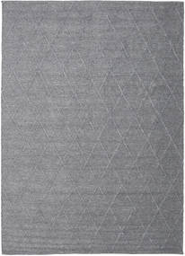 Svea - Charcoal Rug 250X350 Authentic  Modern Handwoven Light Purple/Dark Grey Large (Wool, India)