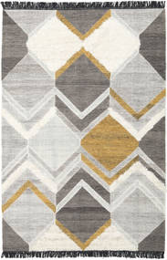 Silvana - Gold Rug 200X300 Authentic  Modern Handwoven Light Grey/Dark Grey (Wool, India)