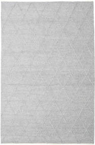 Svea - Silver Grey Rug 200X300 Authentic  Modern Handwoven Light Grey/White/Creme (Wool, India)