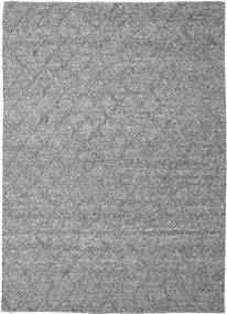 Rut - Dark Grey Melange Rug 250X350 Authentic  Modern Handwoven Dark Grey/Light Grey Large (Wool, India)