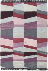 Viola - Purple Rug 200X300 Authentic  Modern Handwoven Light Grey/Purple (Wool, India)