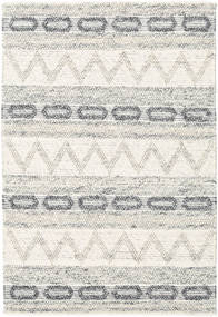 Knut - Grey Mix Rug 140X200 Authentic  Modern Handwoven (Wool, India)