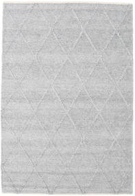 Svea - Silver Grey Rug 140X200 Authentic  Modern Handwoven Light Grey/White/Creme (Wool, India)