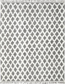 Inez - Dark Brown/White Rug 300X400 Authentic  Modern Handwoven Light Grey/White/Creme Large (Wool, India)