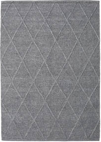 Svea - Charcoal Rug 160X230 Authentic  Modern Handwoven Light Grey/Dark Grey (Wool, India)