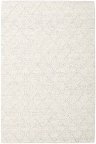 Rut - Ice Grey Melange Rug 200X300 Authentic  Modern Handwoven White/Creme/Light Grey (Wool, India)