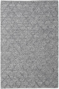 Rut - Dark Grey Melange Rug 200X300 Authentic  Modern Handwoven Light Grey/Light Purple/Dark Grey (Wool, India)