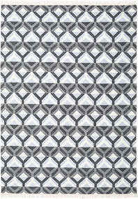 Aino Rug 240X340 Authentic  Modern Handwoven Dark Grey/Beige/Light Grey (Wool/Bamboo Silk, India)
