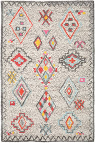 Fatima - Multi Rug 200X300 Authentic  Modern Handwoven Light Grey/Beige (Wool, India)