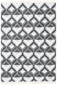 Aino Rug 160X230 Authentic  Modern Handwoven Light Blue/White/Creme (Wool/Bamboo Silk, India)