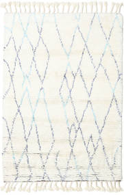 Rana - Natural/Blue Rug 160X230 Authentic  Modern Handknotted Beige (Wool, India)