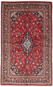 Keshan Matta 130X218 Äkta Orientalisk Handknuten Brun/Mörklila (Ull, Persien/Iran)