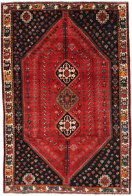 Qashqai Rug 185X275 Authentic  Oriental Handknotted Dark Red/Dark Brown (Wool, Persia/Iran)