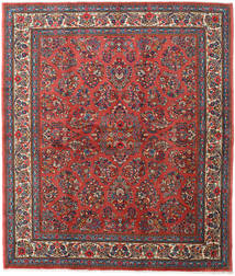 Sarouk Rug 220X258 Authentic  Oriental Handknotted Brown/Dark Red (Wool, Persia/Iran)