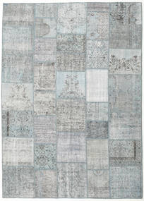 Patchwork Rug 251X352 Authentic  Modern Handknotted Light Grey/Beige Large (Wool, Turkey)