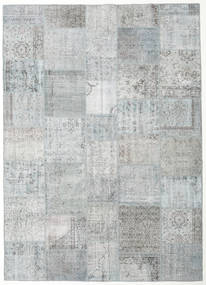 Patchwork Rug 252X352 Authentic  Modern Handknotted Light Grey/Beige Large (Wool, Turkey)
