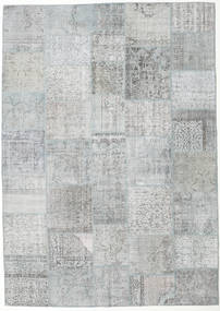 Patchwork Rug 249X352 Authentic  Modern Handknotted Light Grey/Beige (Wool, Turkey)