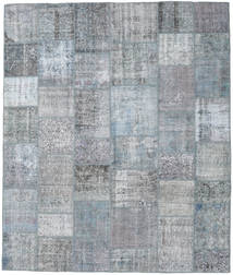 Patchwork Rug 252X301 Authentic  Modern Handknotted Light Grey/Light Blue Large (Wool, Turkey)