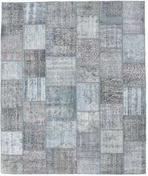 Patchwork Rug 250X300 Authentic  Modern Handknotted Light Grey/Light Blue Large (Wool, Turkey)