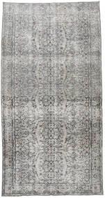 カラード ヴィンテージ 絨毯 145X277 モダン 手織り 薄い灰色/濃いグレー (ウール, トルコ)