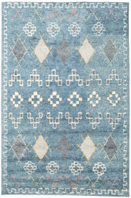 Zaurac - Blue Grey Rug 200X300 Authentic  Modern Handknotted Light Blue/Beige (Wool, India)