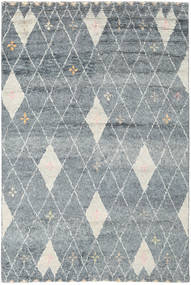Hatsya - Grey Rug 200X300 Authentic  Modern Handknotted Light Grey/Dark Grey (Wool, India)