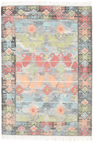 Azteca - Coral Multi Rug 140X200 Authentic  Modern Handwoven Light Grey/Light Pink (Wool, India)