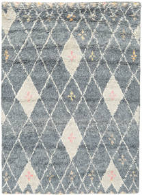 Hatsya - Grey Rug 140X200 Authentic  Modern Handknotted Light Grey (Wool, India)