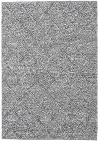 Rut - Mørk grå Melange teppe CVD20203