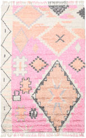 Odda - Pink Rug 200X300 Authentic  Modern Handknotted Light Pink/White/Creme (Wool, India)